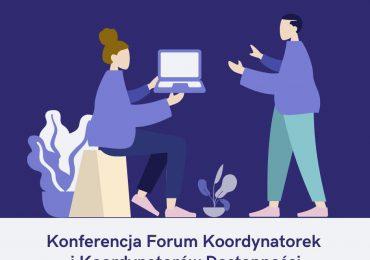 """We wtorek """"Forum Koordynatorów i Koordynatorek dostępności"""""""