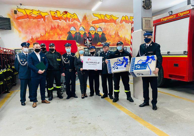 Warmińsko-mazurskie: 800 tysięcy dla strażaków ochotników