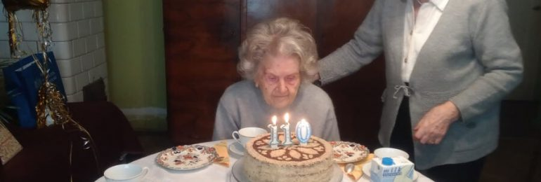 Najstarsza mieszkanka Krakowa skończyła 110 lat