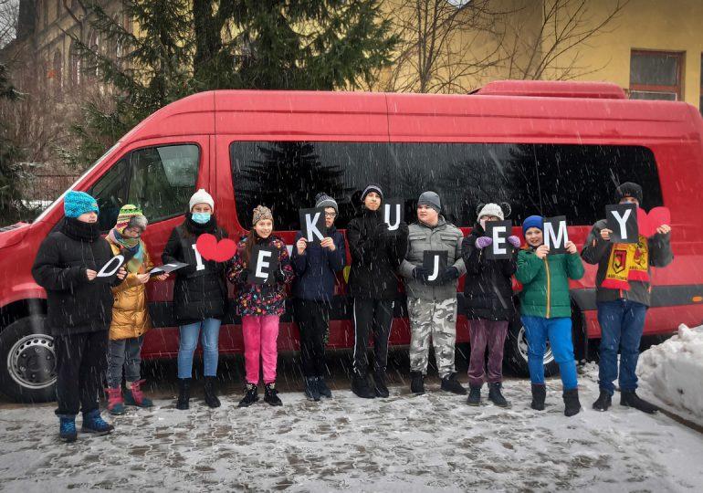 Białystok: Bus do przewozu osób niepełnosprawnych
