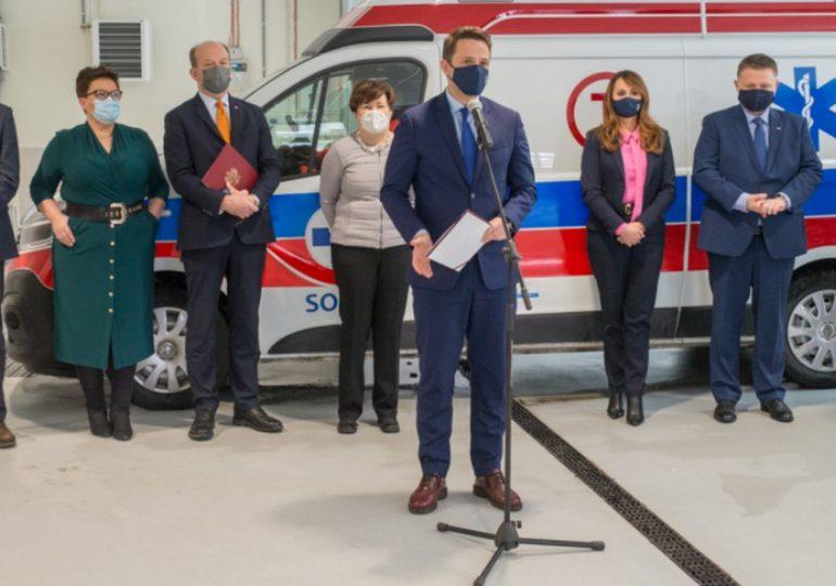 Warszawa: Szpital Południowy już otwarty. Na razie tylko dla pacjentów z COVID-19