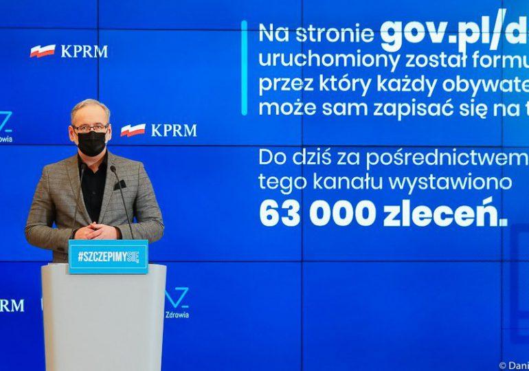 Niedzielski: Plan ewentualnej relokacji pacjentów ze Śląska z wykorzystaniem lotniska w Pyrzowicach