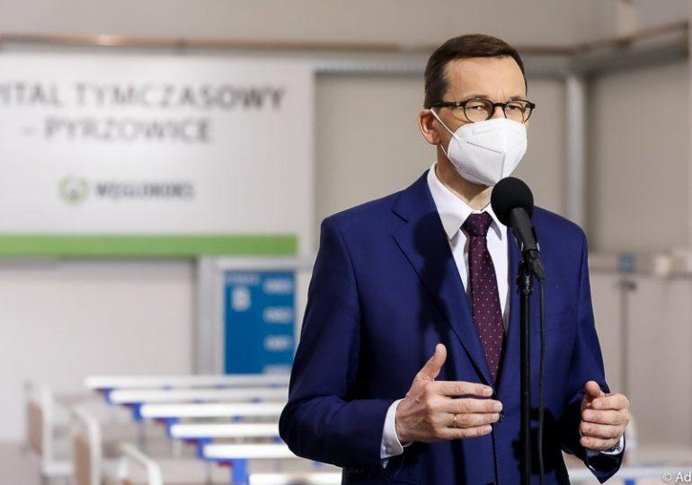 Morawiecki: Najtrudniejszy czas jest przed nami