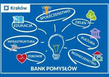 """Kraków: Dodaj swój pomysł do """"Banku Pomysłów"""""""