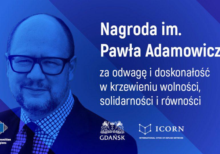 Gdańsk: Europejski Komitet Regionów ustanowił nagrodę im. Pawła Adamowicza