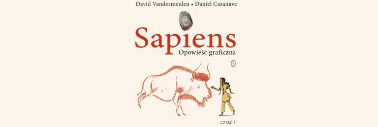 Sapiens. Opowieść graficzna – komiks Harariego