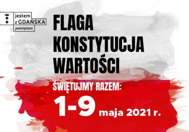 Gdańsk: Flaga, konstytucja, wartości - świętujmy razem 1-9 maja