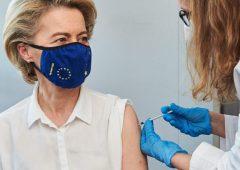 Szefowa KE dostała pierwszą dawkę szczepionki przeciw COVID-19