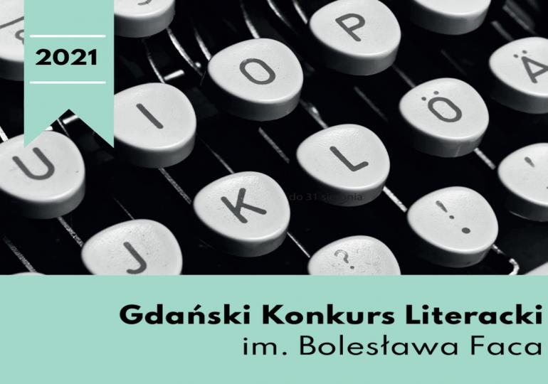 Gdańsk: Wystartował Gdański Konkurs Literacki im. Bolesława Faca