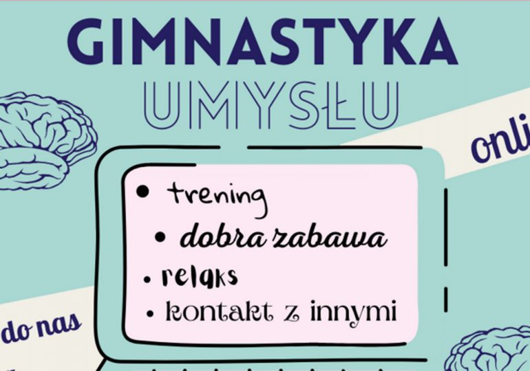 Łódź: Gimnastyka umysłu online – ostatnie wolne miejsca