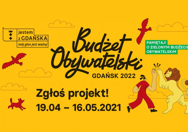 Gdańsk: Zgłoś projekt w Budżecie Obywatelskim 2022