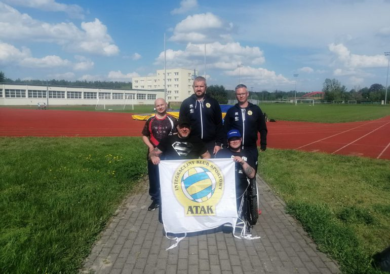 """""""Atak"""" z medalami w Bydgoszczy"""