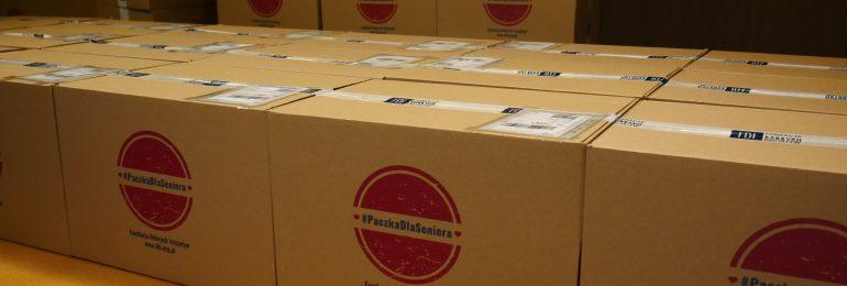 Jutro wielkie pakowanie, czyli V finał akcji #PaczkaDlaSeniora