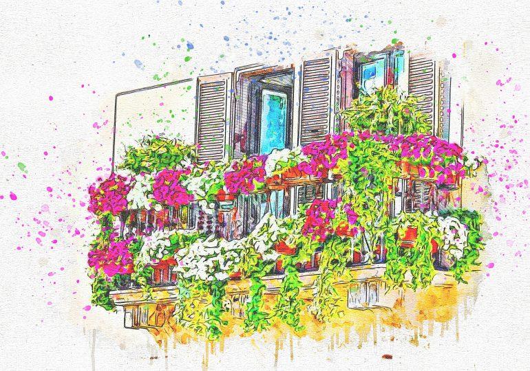 Konkurs na dekoracje balkonu
