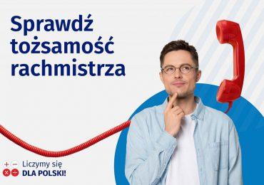 Olsztyn: Sprawdź tożsamość rachmistrza