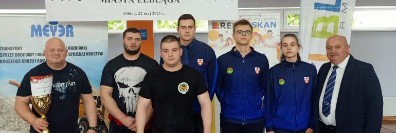 Sztangiści rywalizowali o Puchar Prezydenta Elbląga