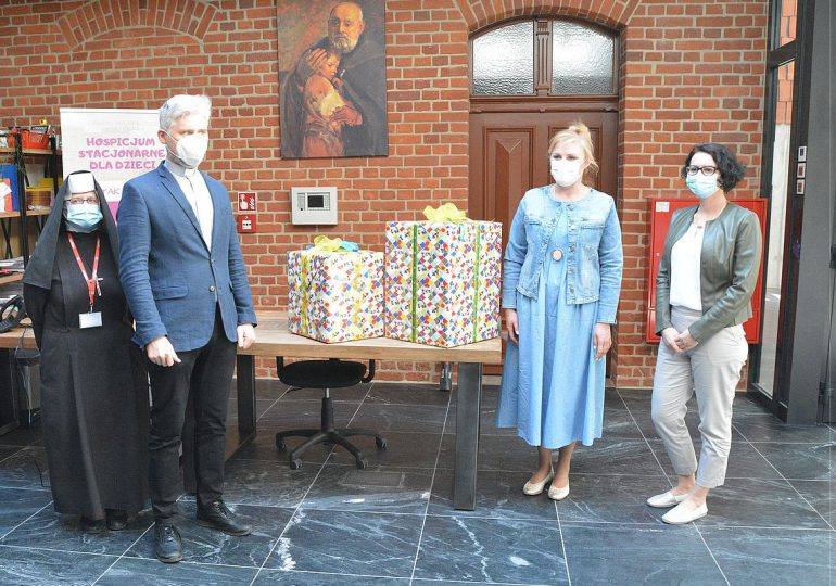 Olsztyn: Do hospicjum trafiły zabawki