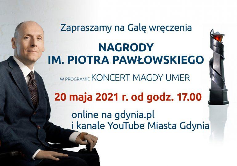 Gdynia: Gala nagrody im. Piotra Pawłowskiego