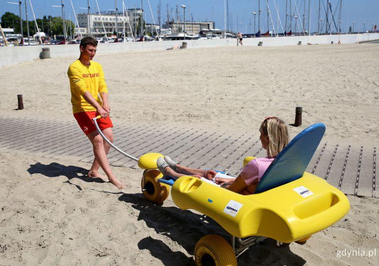 Gdynia: Plaża dla każdego