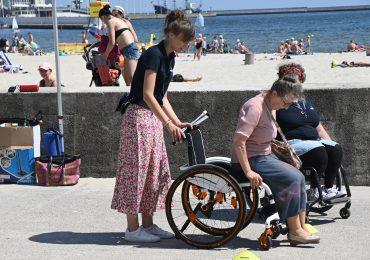 Gdynia: Gdyńskie plaże bez barier