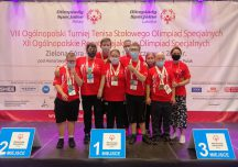 Olimpiady Specjalne: Zawody w tenisa i kajakarstwie