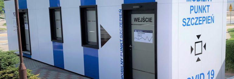 Olsztyn: Mobilny punkt szczepień