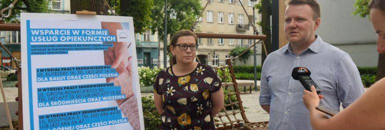 Łódź: Opiekunowie pomogą w codziennych obowiązkach