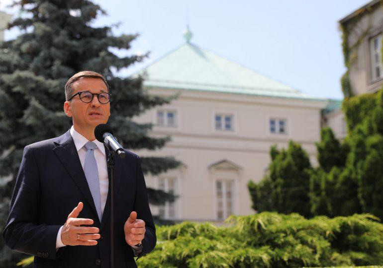 Morawiecki: Dziś mowa jest o mutacji Delta, ale za rogiem czai się mutacja Lambda