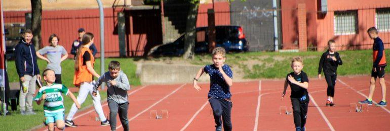 Olimpijczyk na Rodzinnym Pikniku Lekkoatletycznym (program imprezy)