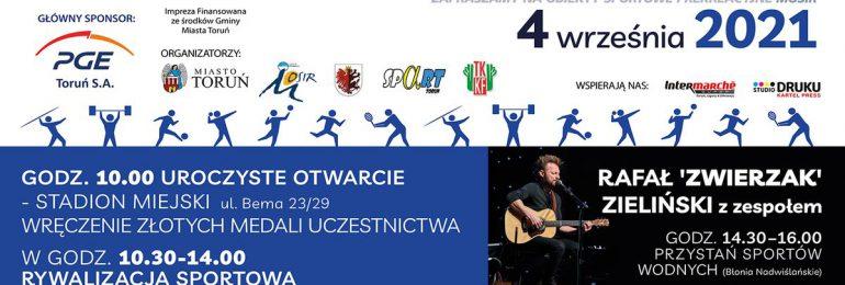 X Toruńska Olimpiada Osób Niepełnosprawnych już wkrótce