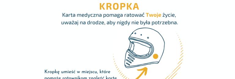 Kraków: Pomarańczowa kropka może uratować życie