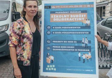 W Łodzi jeszcze w tym roku wystartuje Szkolny Budżet Deliberacyjny