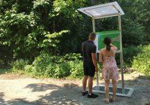 Osoby z dysfunkcją wzroku mogą od teraz zwiedzać Dolinę Wapienicy w Beskidach