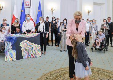 Małżonka Prezydenta gościła w swoich progach uczniów z OREW w Kielcach