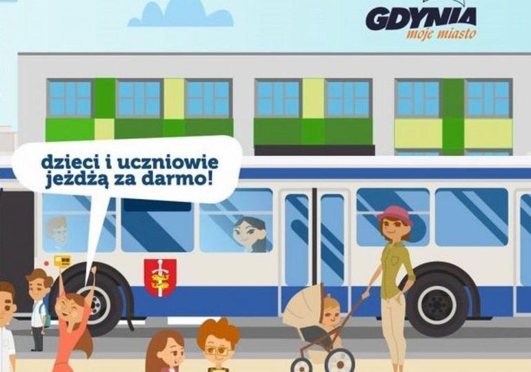 Gdynia: Dzieci i uczniowie jeżdżą za darmo