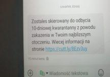 Dostałeś takiego SMS-a? Nie klikaj w link!
