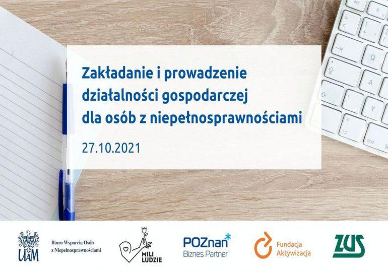 Poznań: Szkolenie dla osób z niepełnosprawnościami