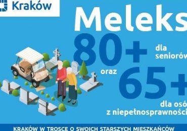 Meleks 80+ dla seniorów i 65+ dla osób z niepełnosprawnością