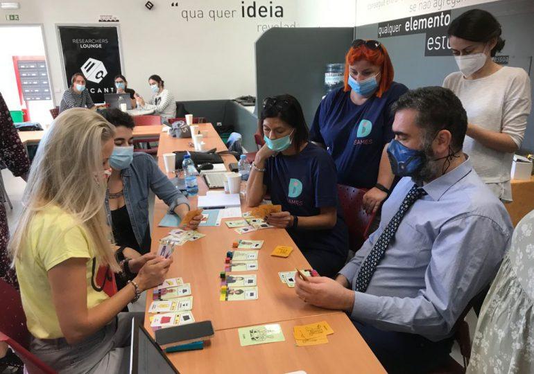 Przedstawiciele SOSW nr 1 na warsztatach ID Games w Lizbonie