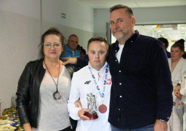 Przywitali medalistę