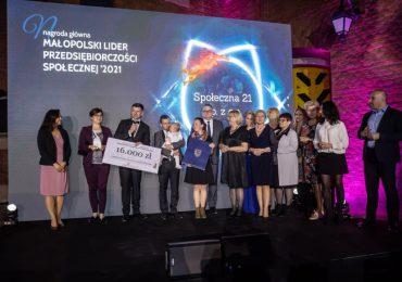 Konkurs Małopolski Lider Przedsiębiorczości Społecznej 2021 rozstrzygnięty