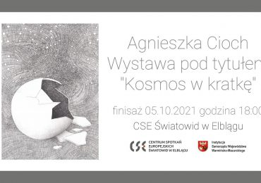 """""""Kosmos w kratkę"""" – wystawa Agnieszki Cioch w """"Światowidzie"""""""