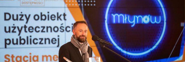 Stacja metra Młynów jednym z liderów dostępności 2021