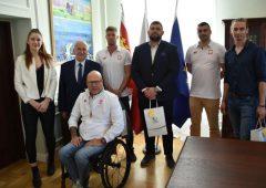 Olimpijczycy z wizytą u marszałka